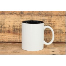 Mug Two Tone Hitam